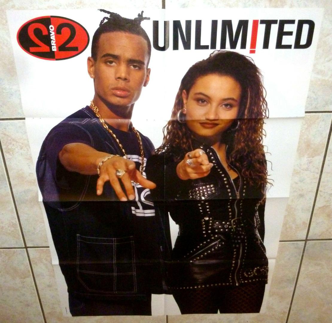 Unlimited Poster aus einem Bravo Heft