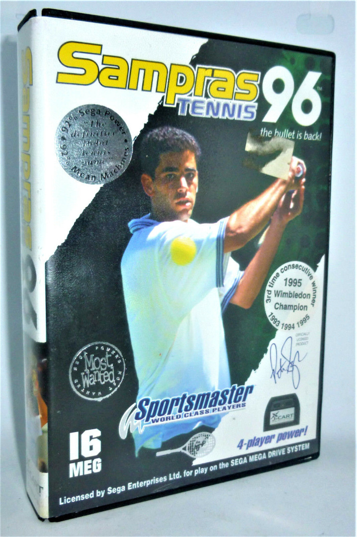 Sampras Tennis 96 - Codemasters