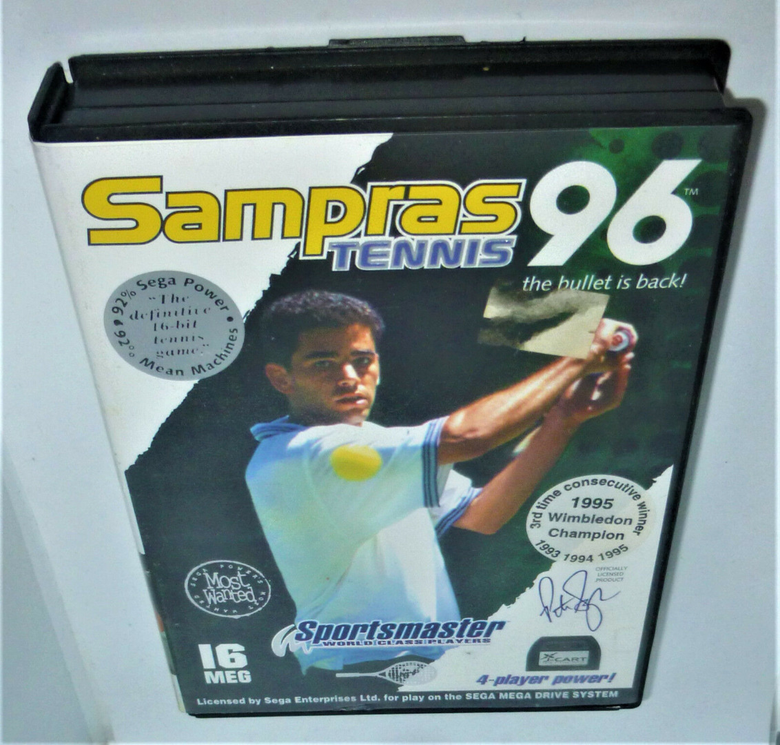 Sampras Tennis 96 - Codemasters 2