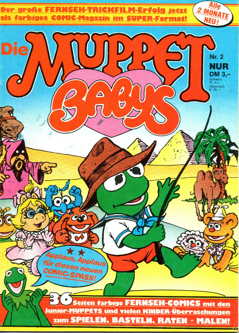 Die Muppet Babys - Comic Nr2