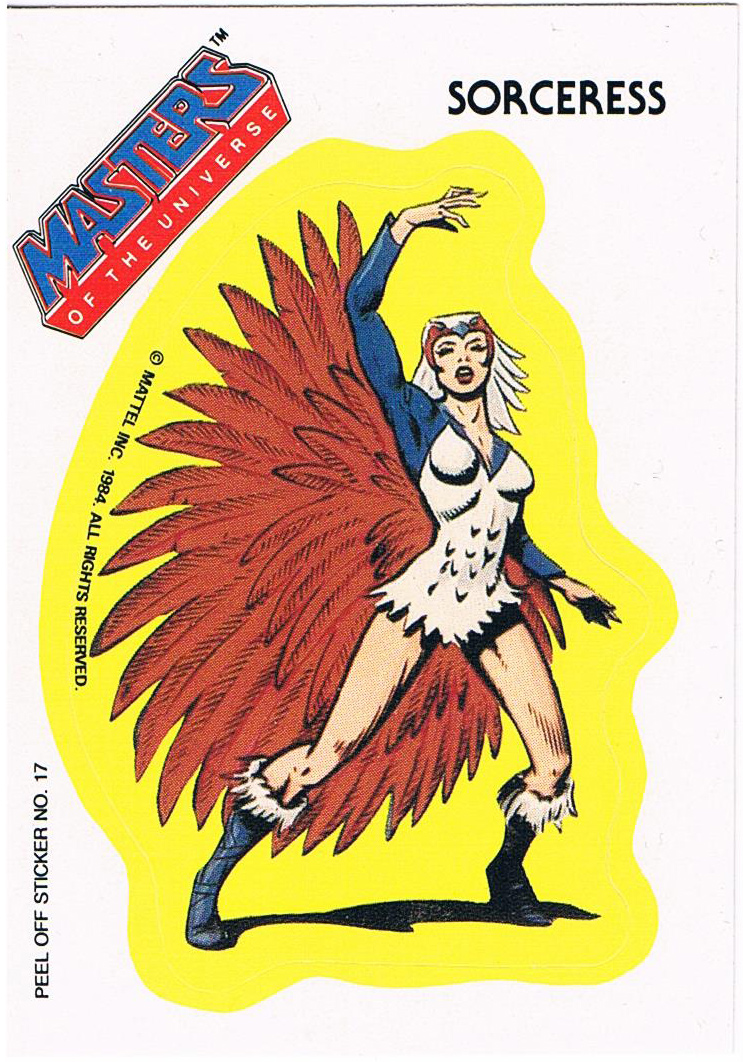 Sorceress Sticker von Topps