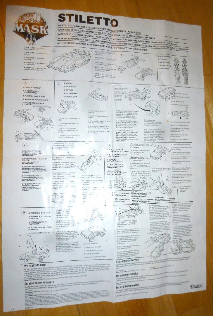 Poster - Stiletto Manual /