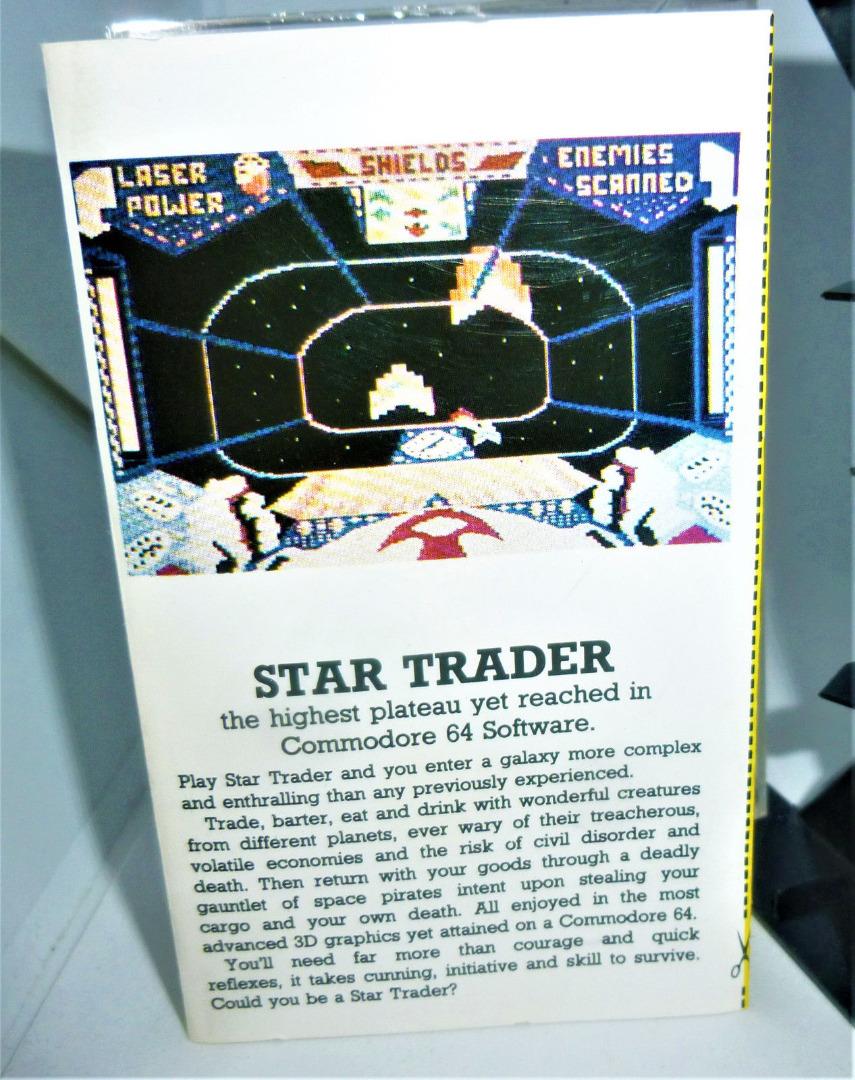 C64 Star Trader Kassette Datasette MC - 2