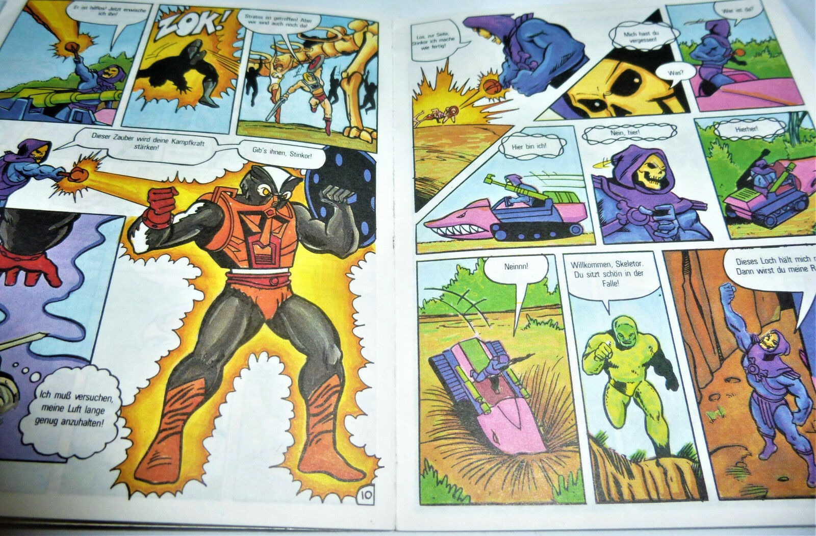 The Stench of Evil - Mini Comic - Masters of the Universe / He-Man - 2