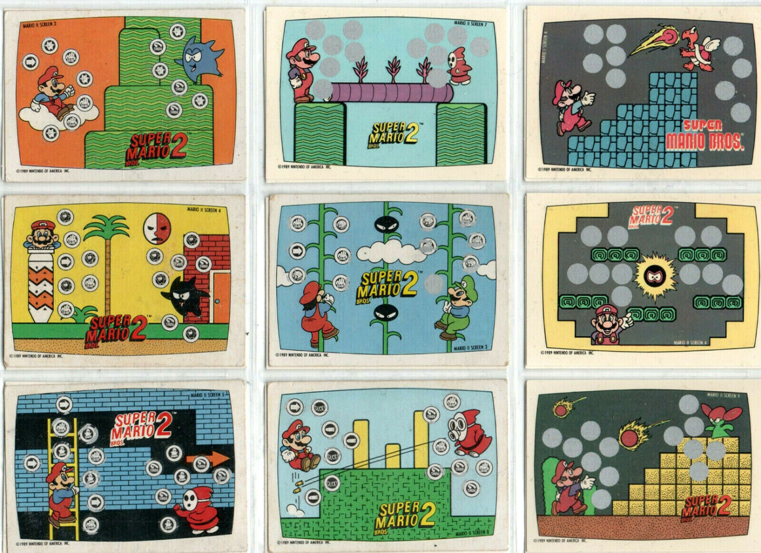 Super Mario Bros - Trading Cards - 2
