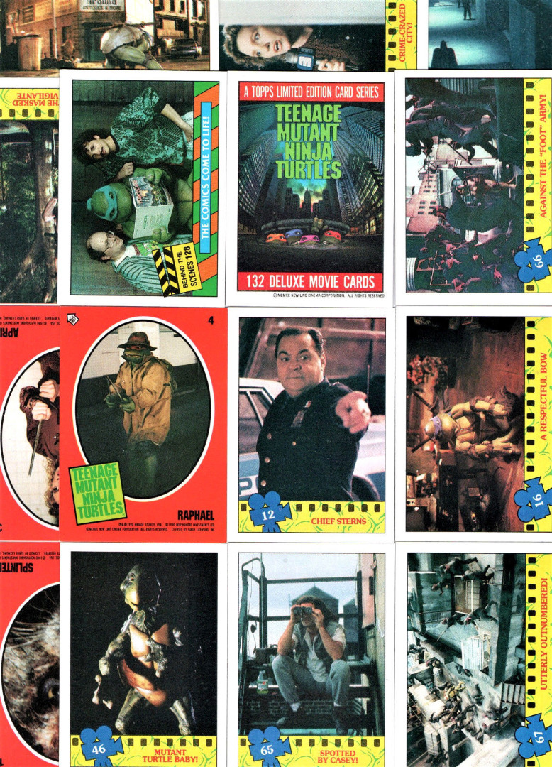 Movie - 12 Trading Cards &