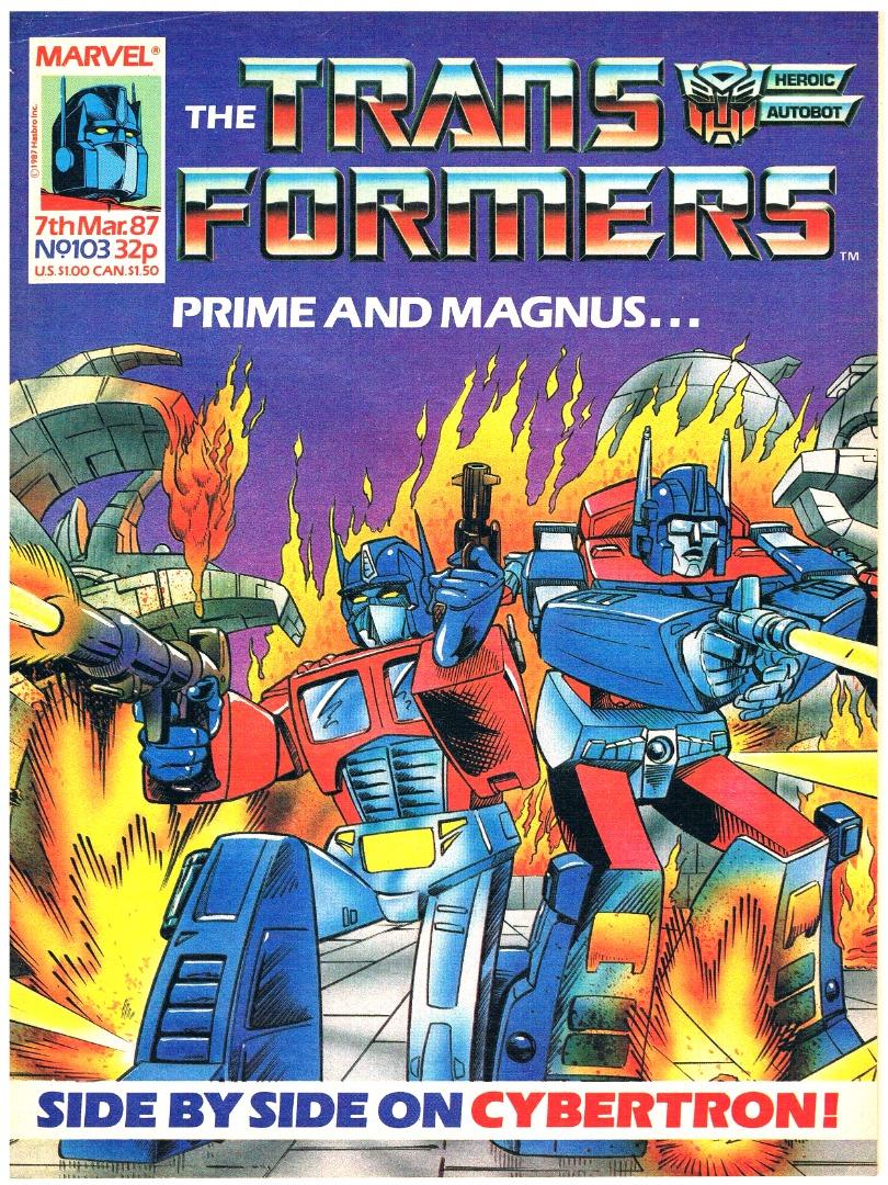 The Transformers - Comic Nr/No 103