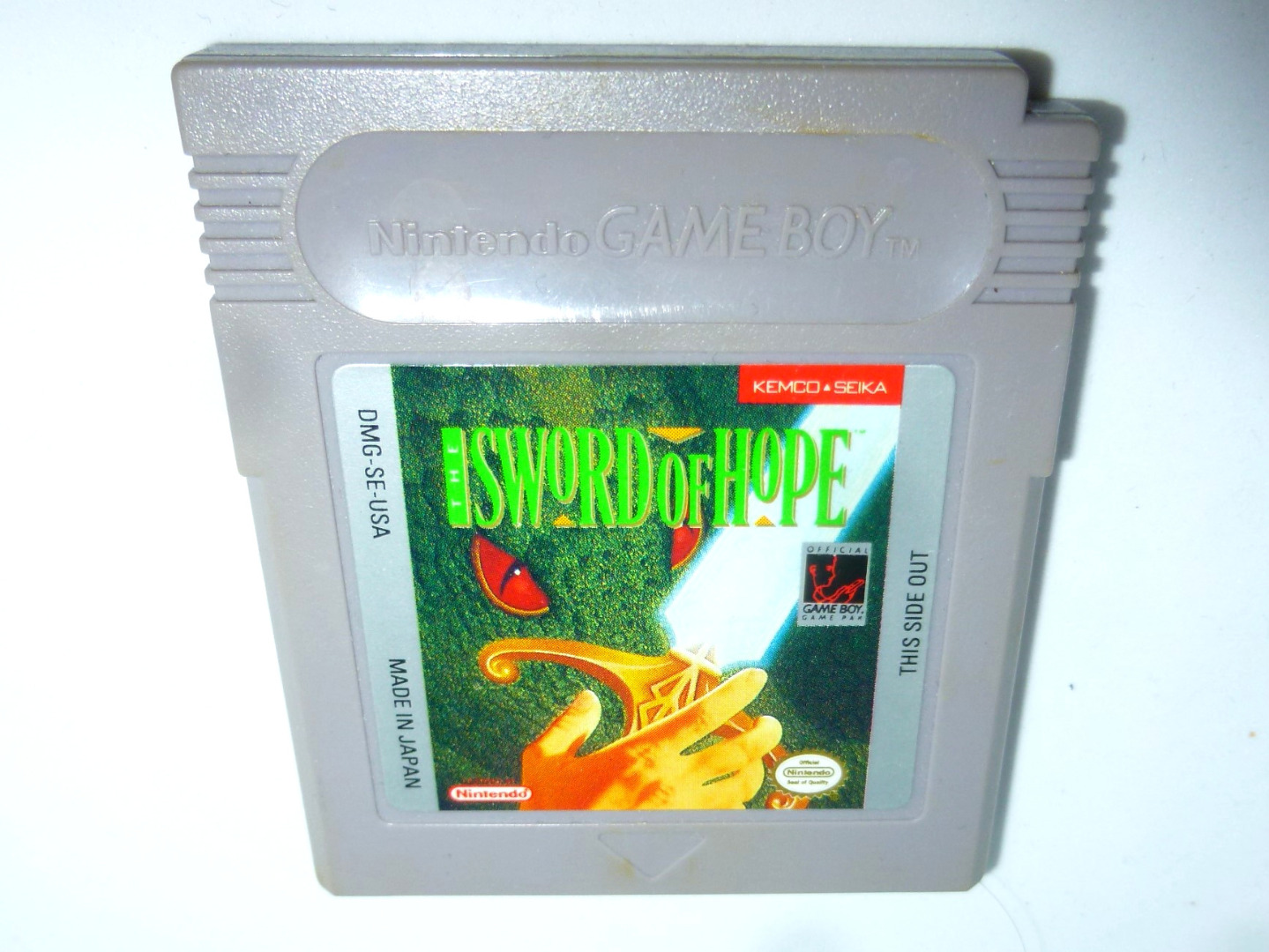 Nintendo Game Boy The Sword of