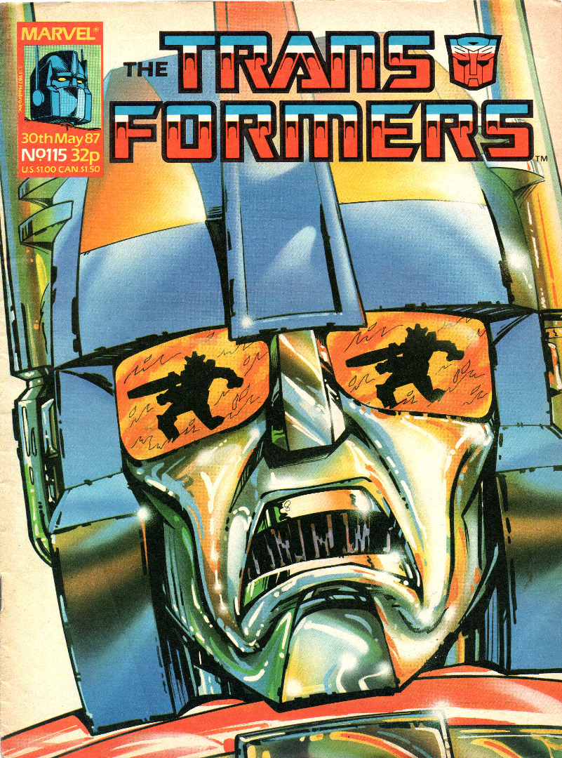 The Transformers - Comic - Generation 1 / G1 - 1987 87 / 115 - Englisch - 1