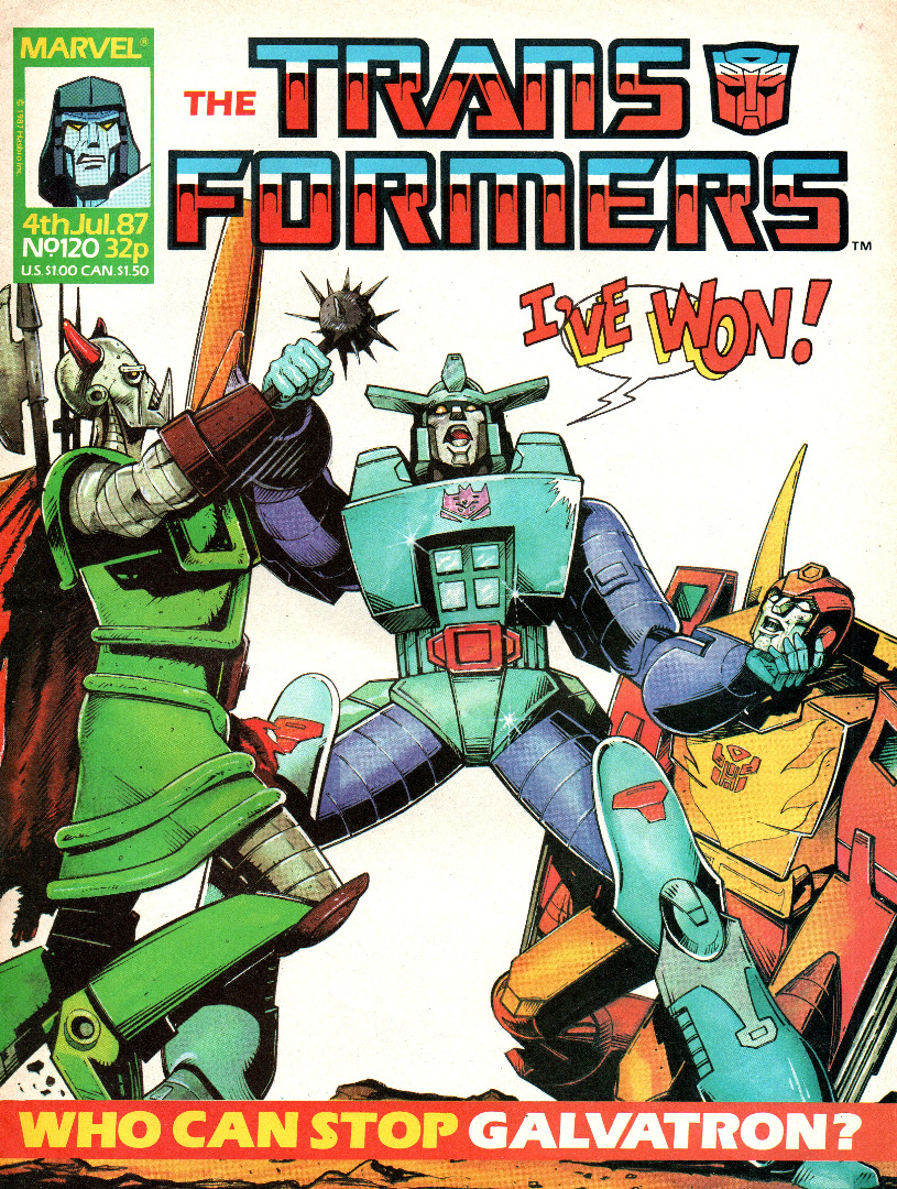 The Transformers Comic Generation G1 Jul