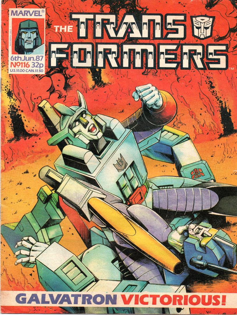 The Transformers Comic Generation G1 Jun