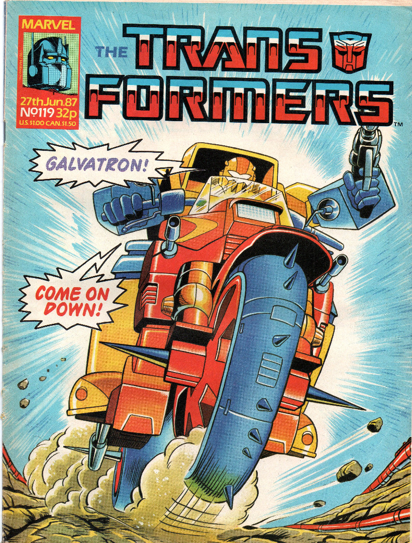 The Transformers -119 - 1987 87