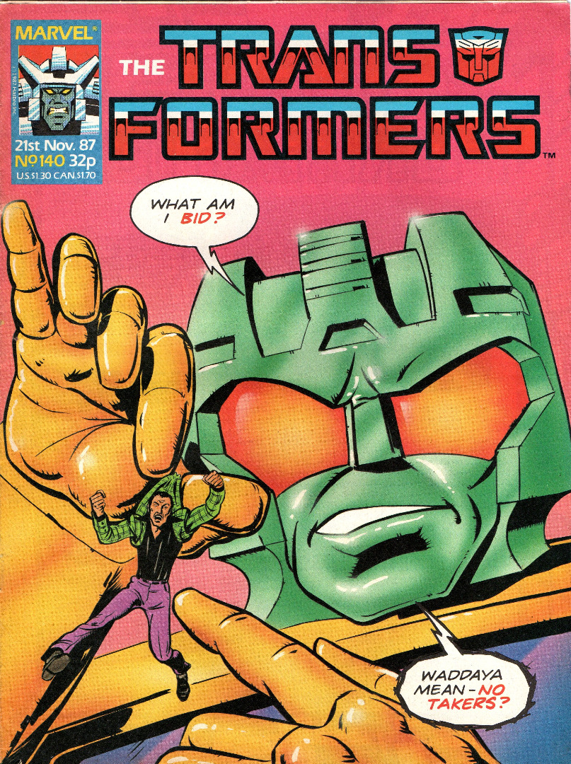 The Transformers - Comic Nr/No 140