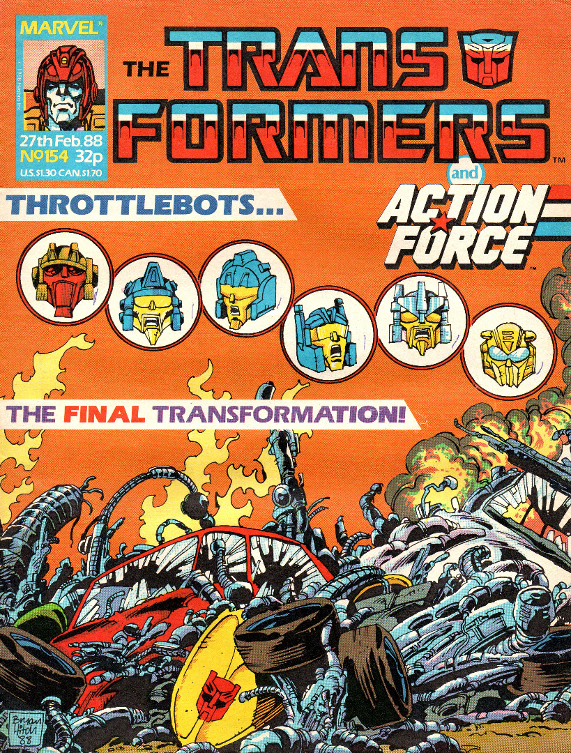 The Transformers - Comic Nr/No 154