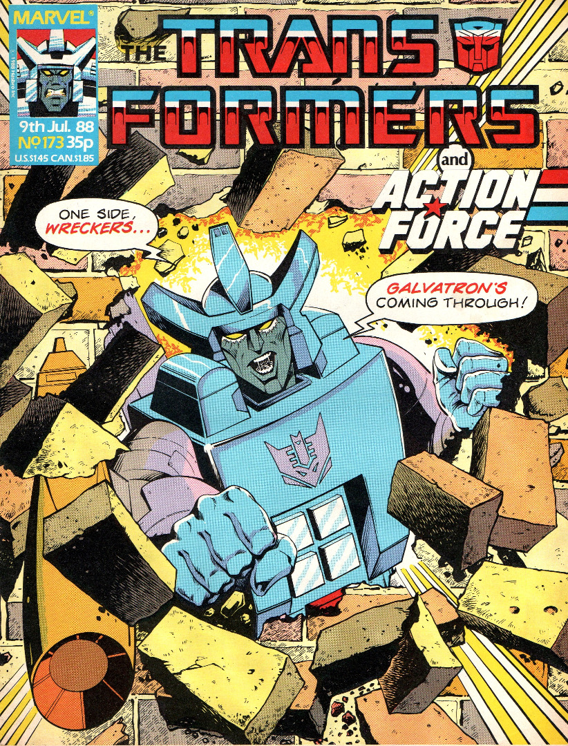 The Transformers - 173 - 1988