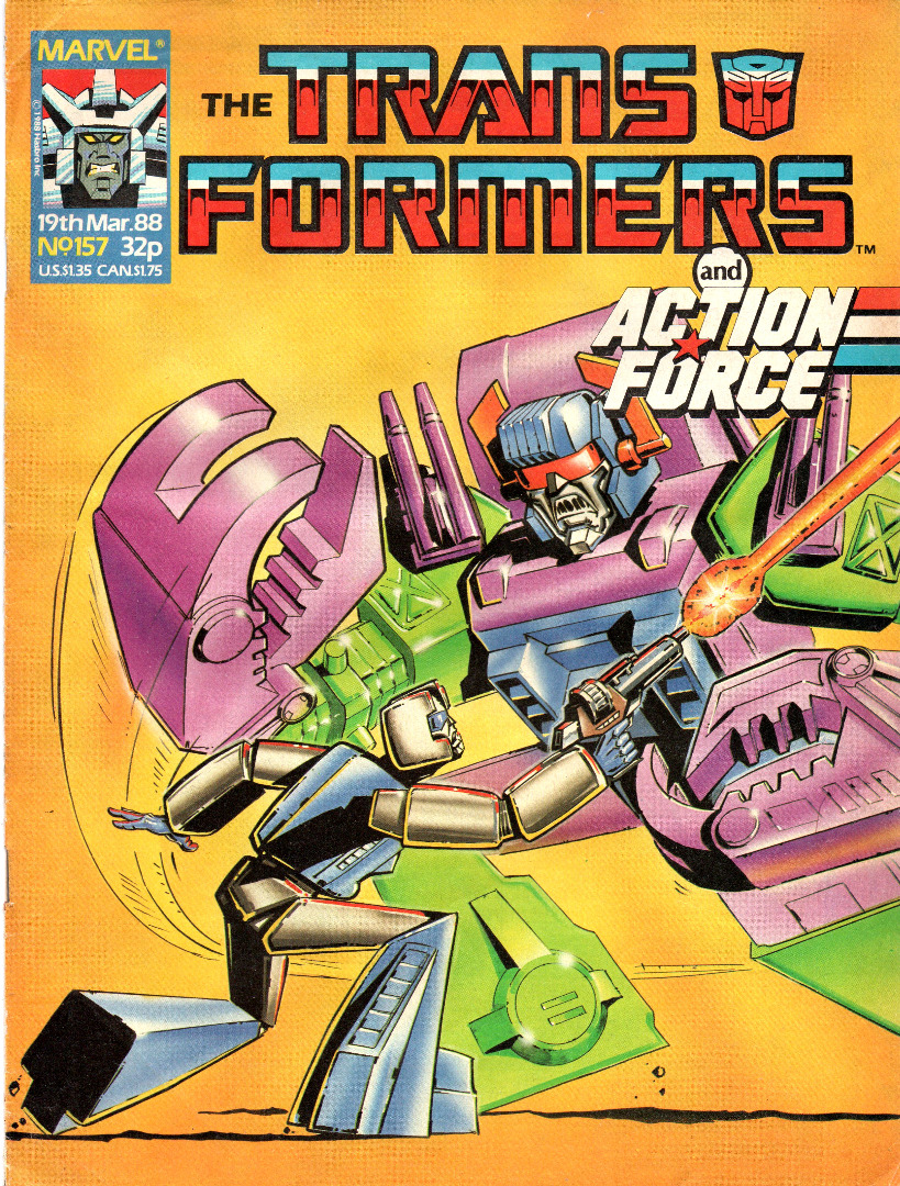 The Transformers Comic Generation G1 Mar