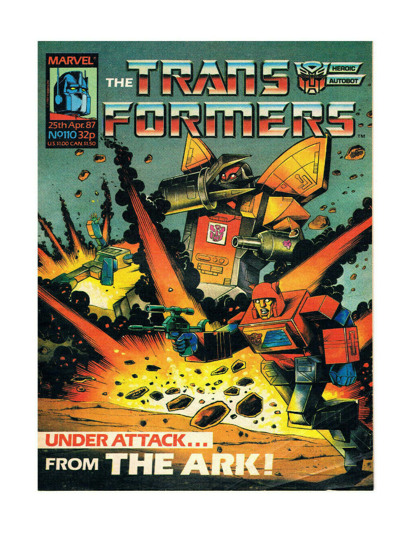The Transformers - Comic Nr/No 110