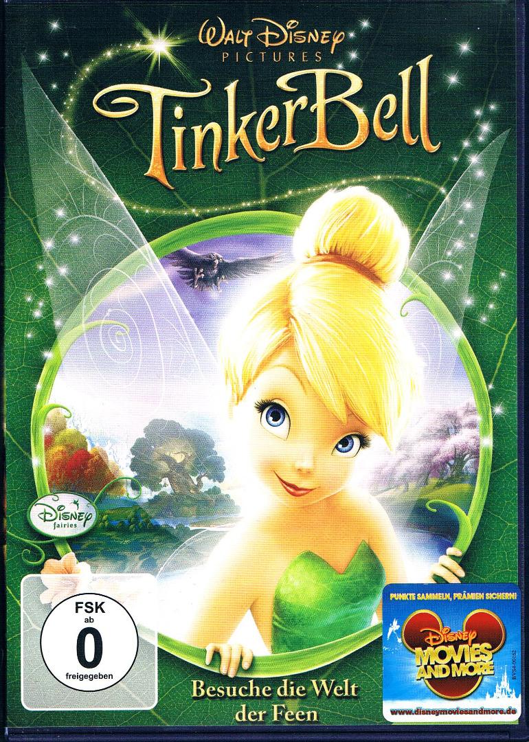 DVD Tinker Bell Besuche die Welt