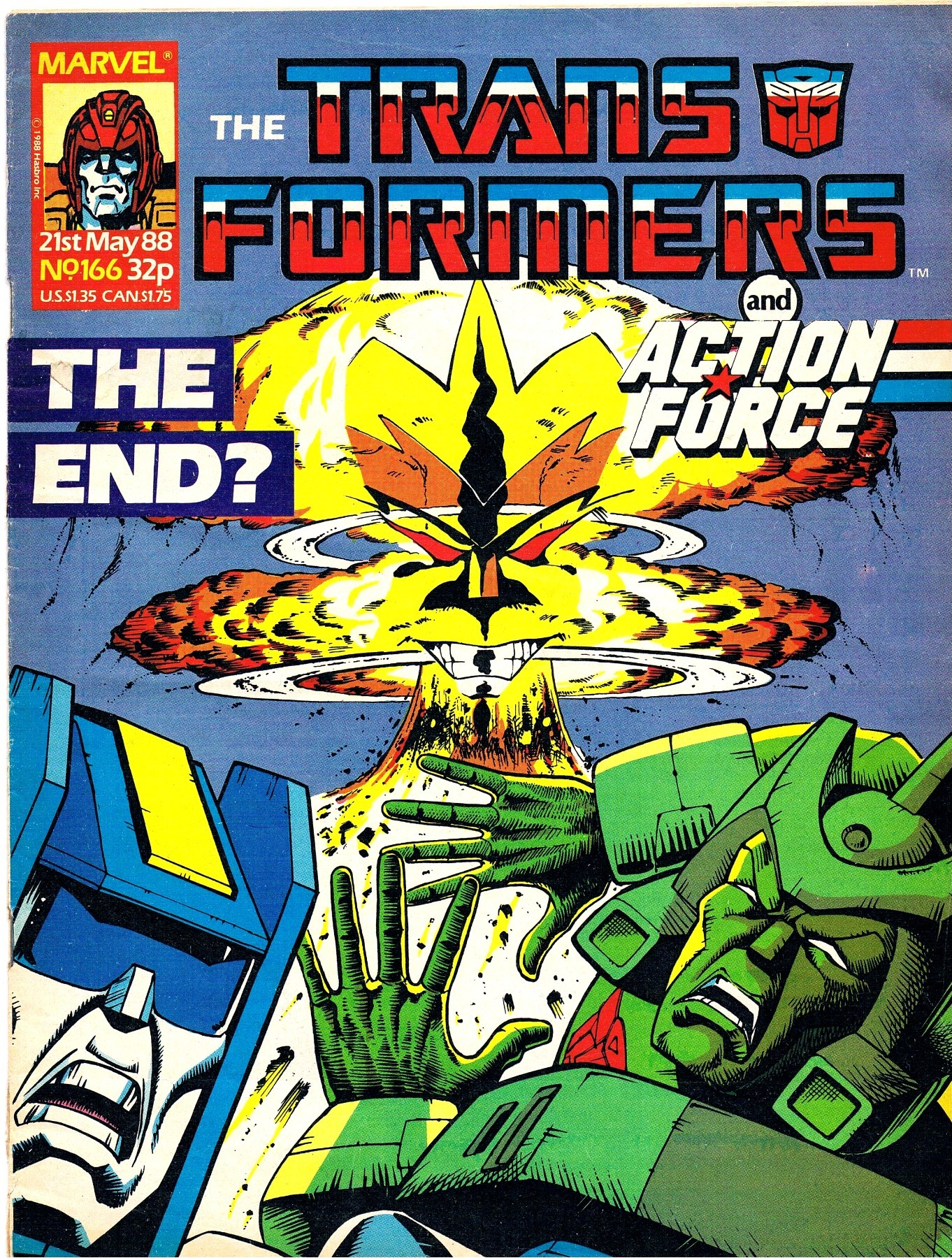 The Transformers - Comic Nr/No 166