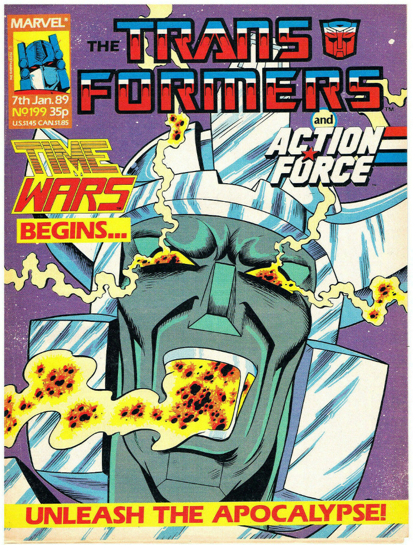 The Transformers - Comic Nr/No 199