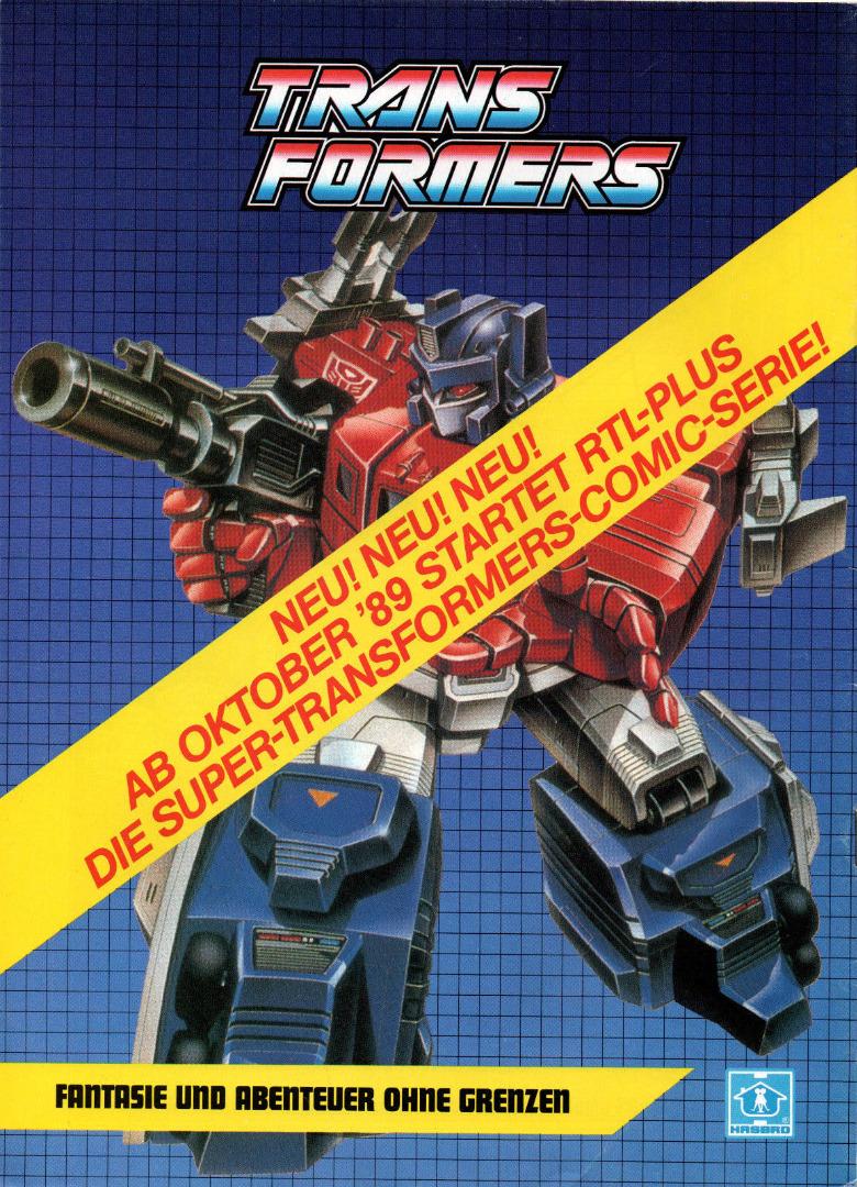 Transformers Comic-Magazin Nr. 5 - Generation 1 / G1 - 1989 - 2