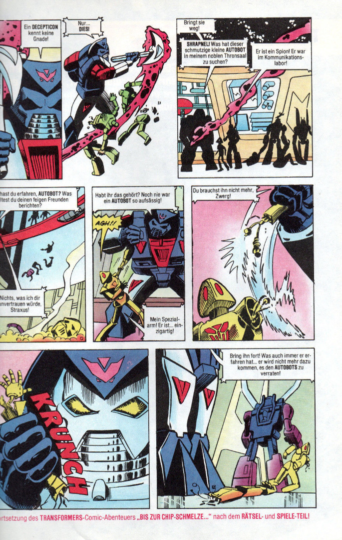 Transformers Comic-Magazin Nr. 5 - Generation 1 / G1 - 1989 - 3