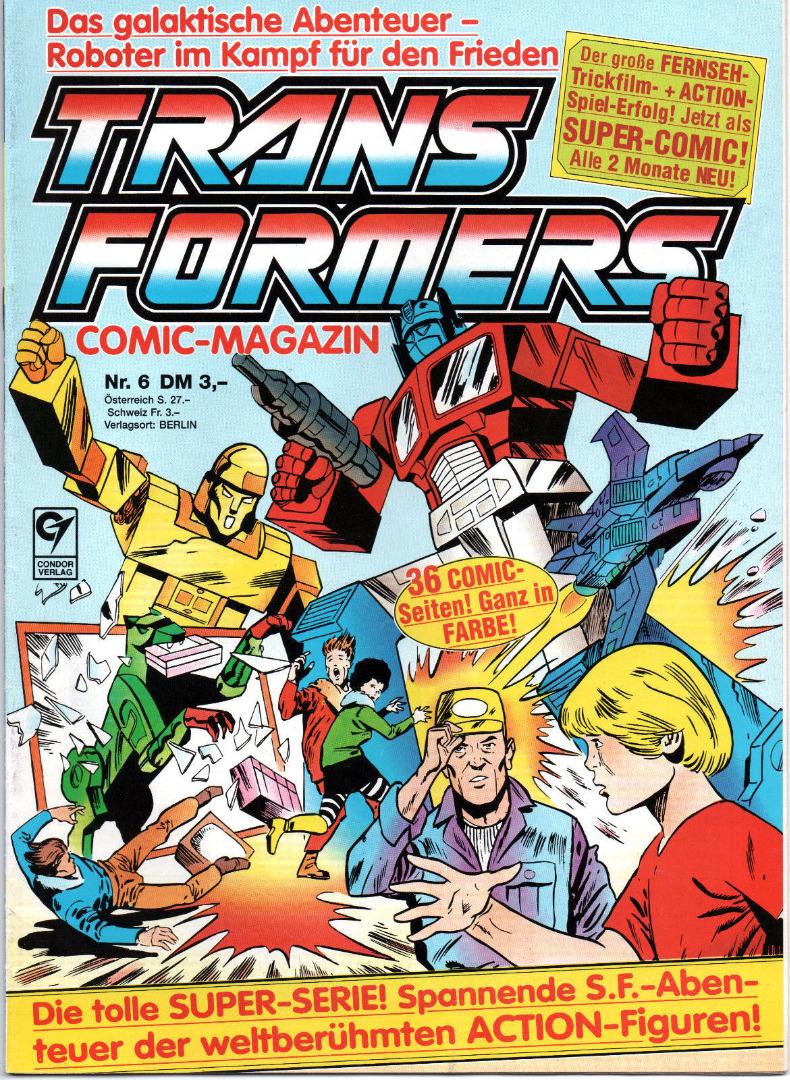Transformers Comic-Magazin Nr 6 - Generation