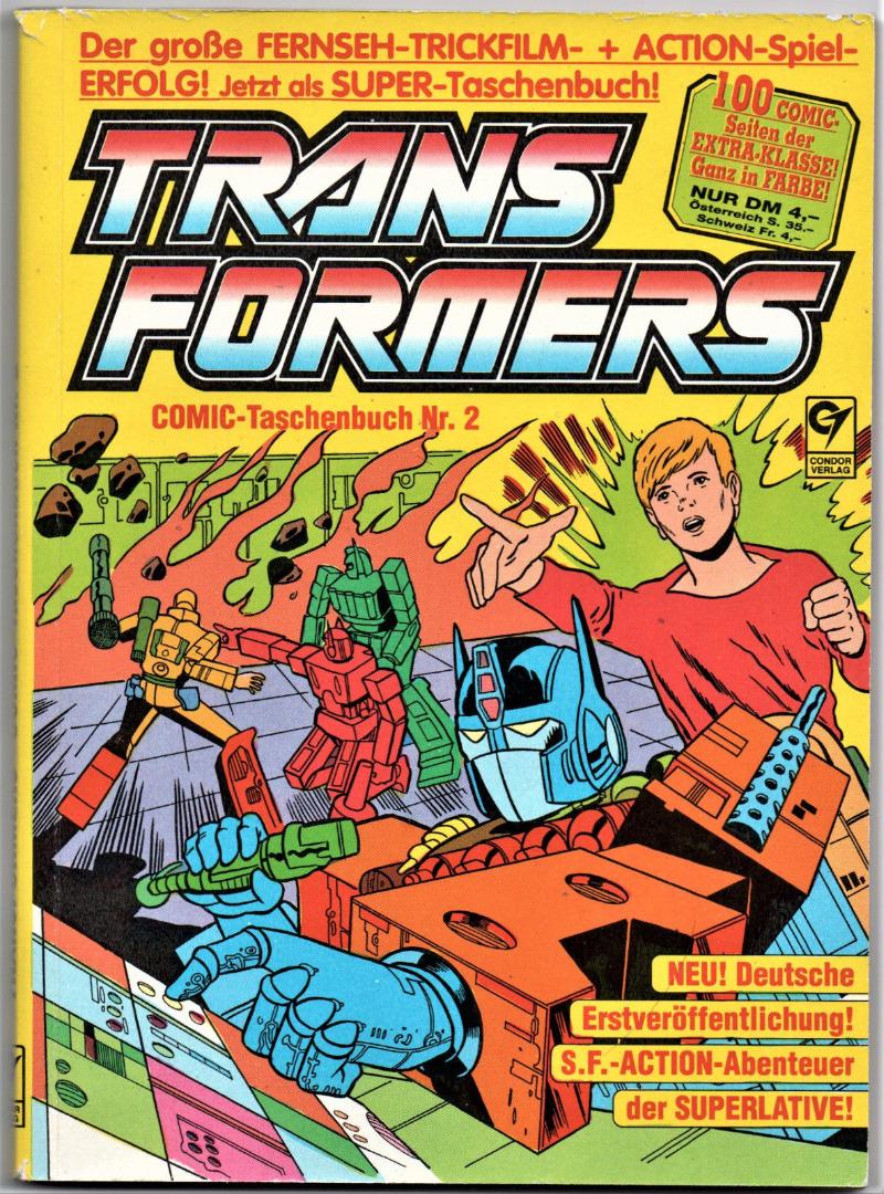 Transformers Comic-Taschenbuch Nr2 - Generation 1