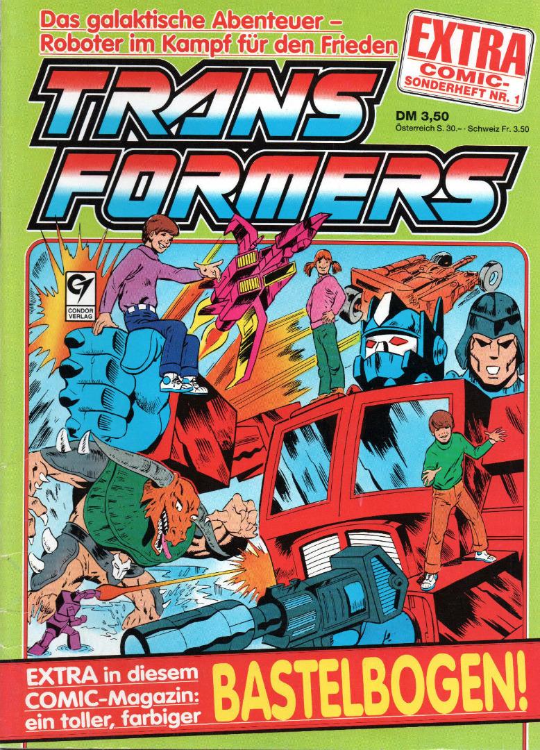 Transformers Extra Comic Sonderheft Generation G1 - 1