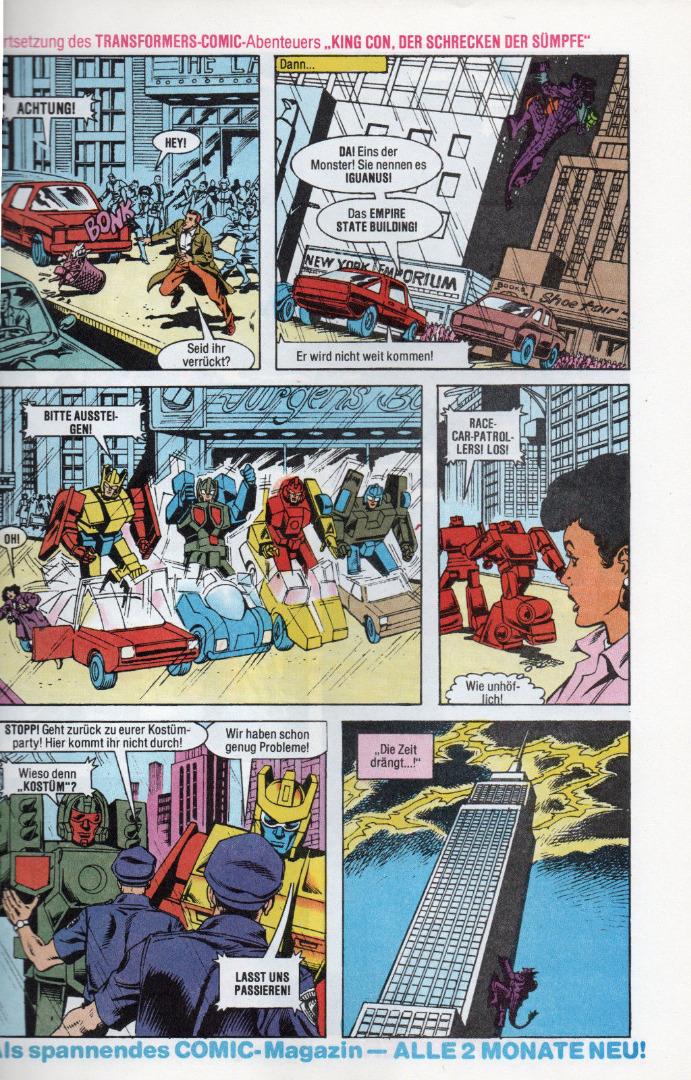 Transformers Extra Comic Sonderheft Generation G1 - 3