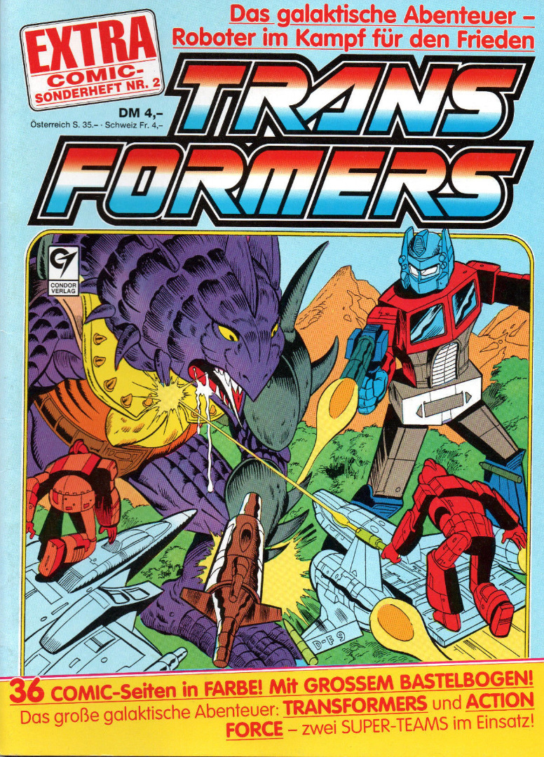 Transformers Extra Comic Sonderheft 2 - Generation 1 / G1 - 1989 - 1