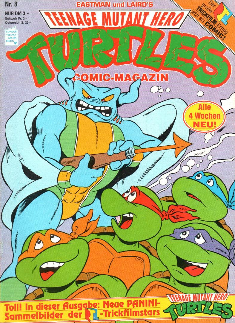 Teenage Mutant Hero Turtles Comic Nr