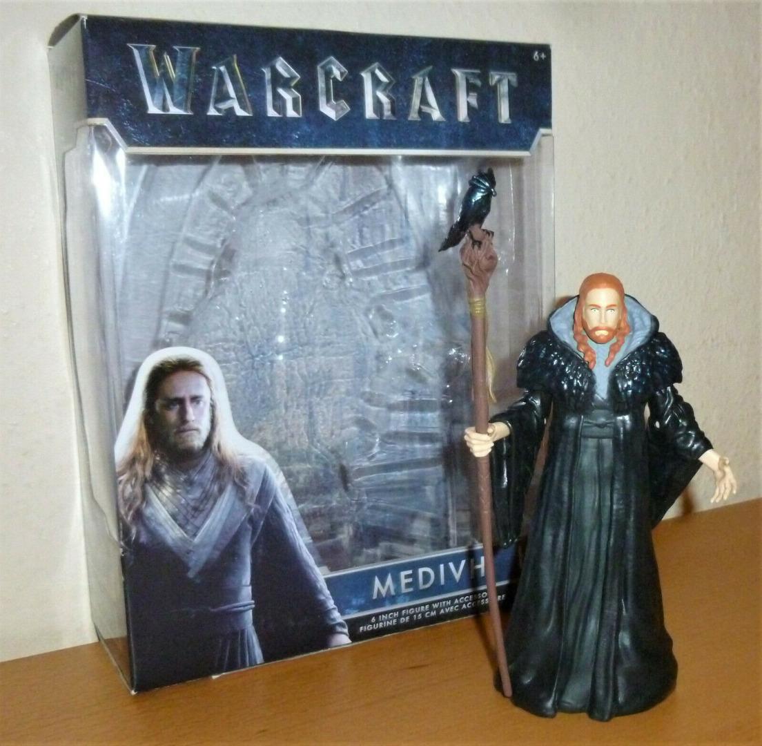 Warcraft - Medivh - Actionfigur - 2