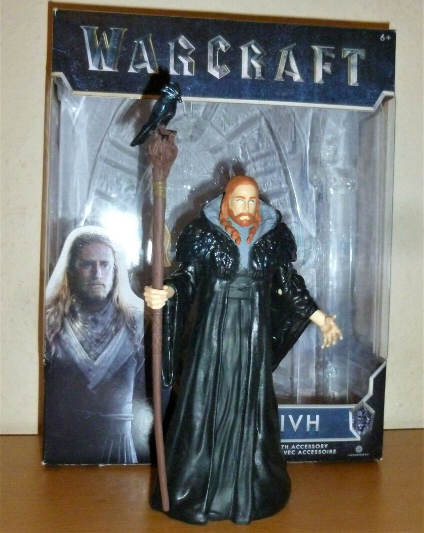 Warcraft - Medivh - Actionfigur 3