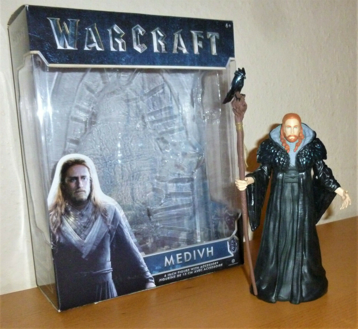 Warcraft - Medivh - Actionfigur - 4