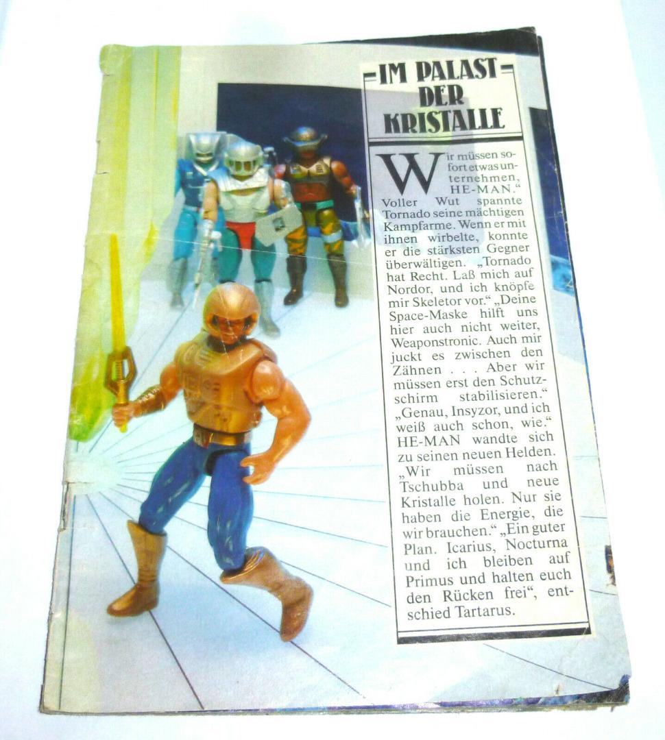 New Adventure of He-Man Werbeheft defekt