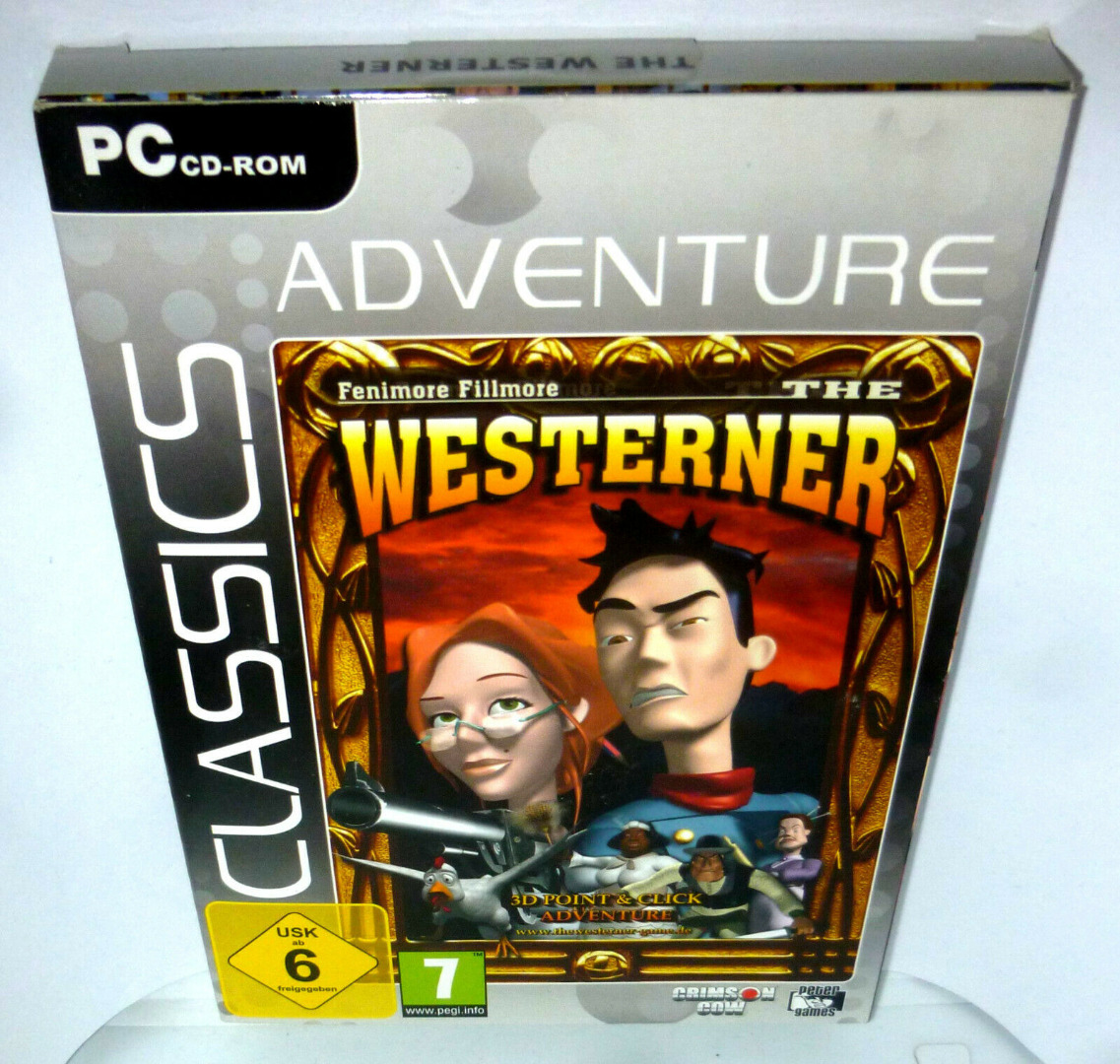 PC-Spiel DVD-ROM The Western Fenimore Fillmore