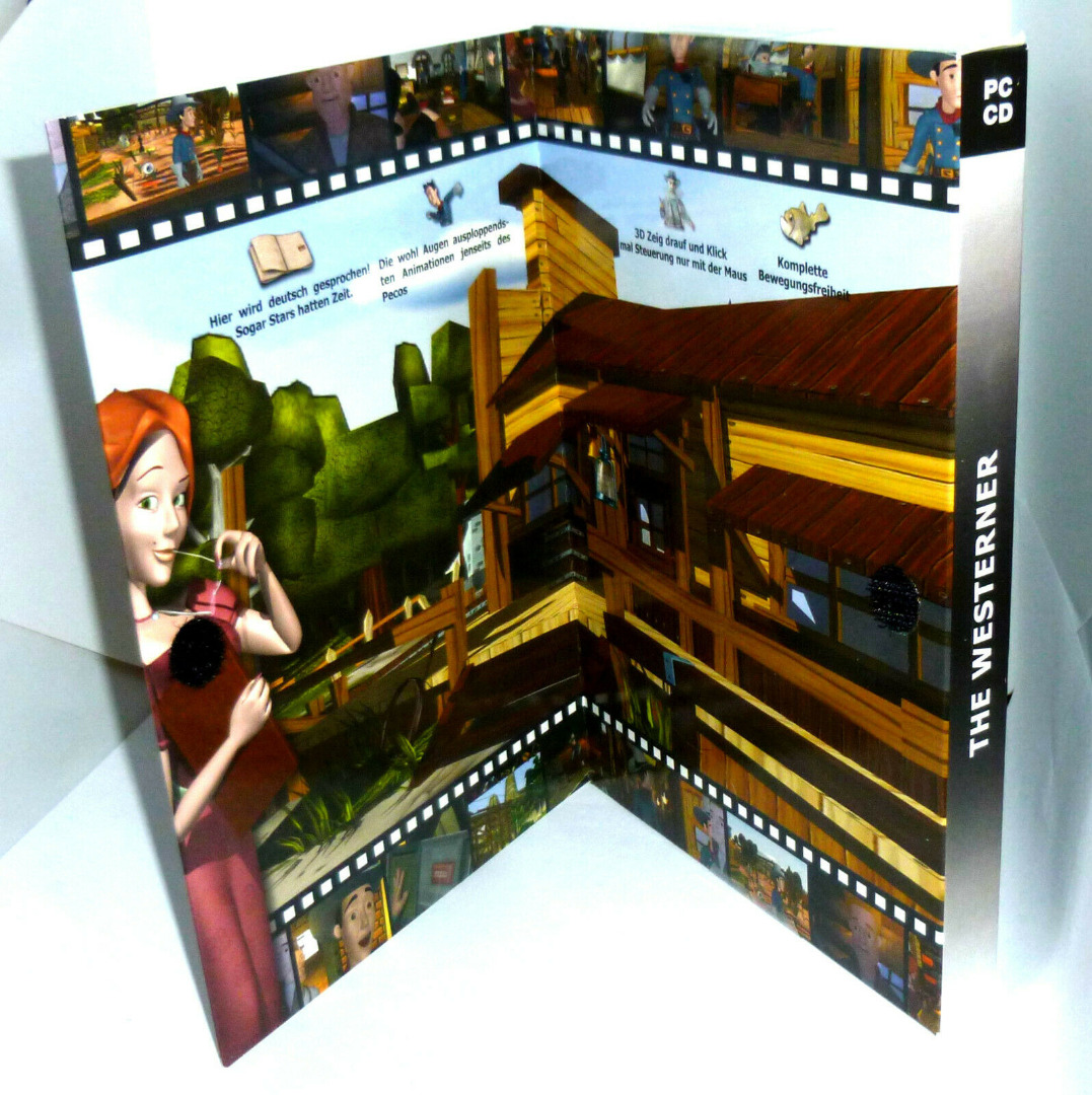 PC-Spiel DVD-ROM The Western Fenimore Fillmore