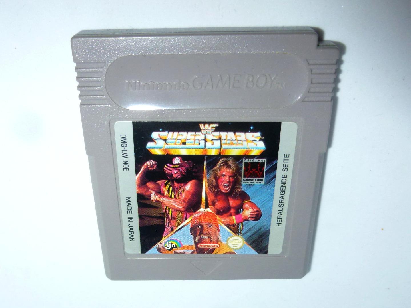 Nintendo Game Boy WWF Super Stars