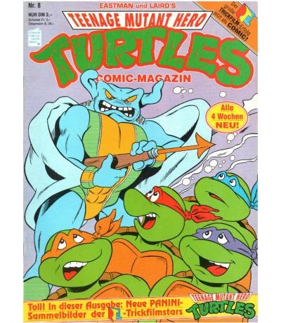 Teenage Mutant Hero Turtles - Comic Nr. 8 - Ninja Turtles