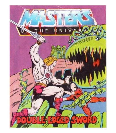 Double-Edged Sword - Mini Comic - Masters of the Universe / He-Man