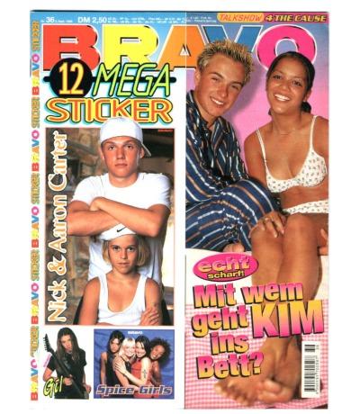 Bravo Nr.36 1998 Heft - Spice Girls Echt Die Toten Hosen Oliver Petszokat