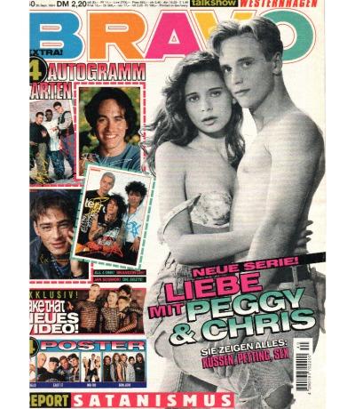 Bravo Nr.40 1994 Heft - komplett - Jetzt online Kaufen - Take That Boyz II men Beverly Hills, 90210 Die Ärzte Jovanotti Ice-T