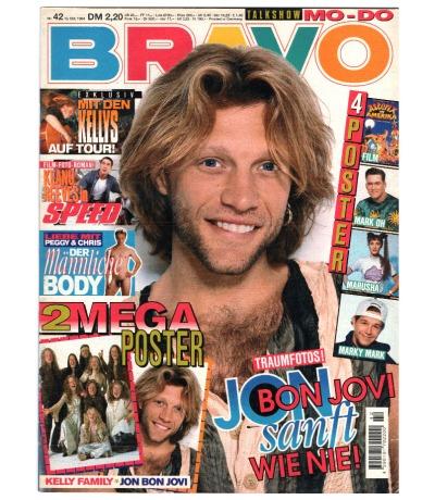 Bravo Nr.42 1994 Heft - Jetzt online Kaufen - Alex Dimitriades Whigfield D.J. Bobo Mo-Do Machine Head