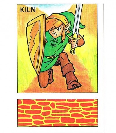 Nintendo Euroflash Sticker The Legend of