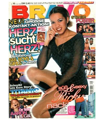 Bravo Nr.16 1998 Heft - Jetzt online Kaufen - Tic Tac Toe Gil Aaron Puff Daddy Wes Touche