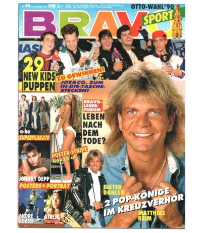 Bravo Nr.49 1990 Heft - Vanilla Ice Jon Bon Jovi Gianaa Nannini Matthias Reim