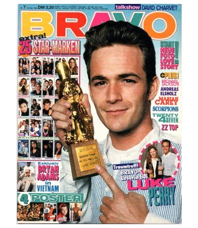 Bravo Nr.7 1994 Heft - komplett - Jetzt online Kaufen - Lorenzo Lamas Bryan Adams Scorpions Mariah Carey Twenty 4 Seven David Charvet Die Prinzen