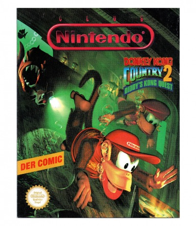 Club Nintendo - Donkey Kong Country 2 - Diddy s Kong Quest - Der Comic 1995