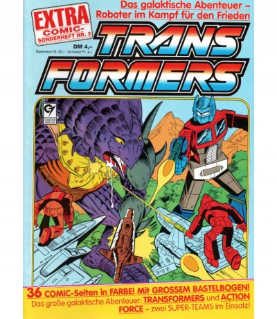 Transformers Extra Comic Sonderheft 2 - Generation 1 / G1 - 1989 - Transformers